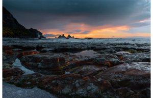 Фотообои Каменный закат