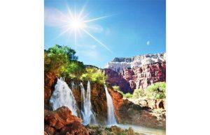 Фотообои Горный водопад