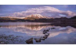 Фотообои Озеро в горах