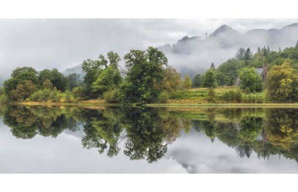 Фотообои Озеро-зеркало