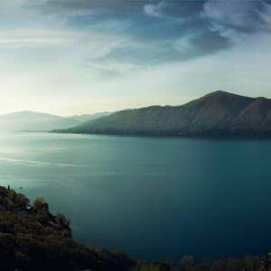 Фотообои Голубое озеро