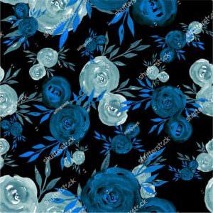 Фотообои Синие розы