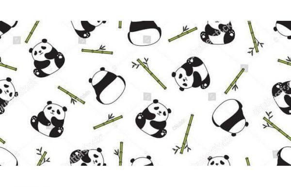 Фотообои Панды и бамбук