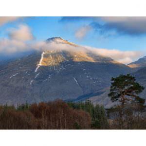 Фотообои Гора в облаках