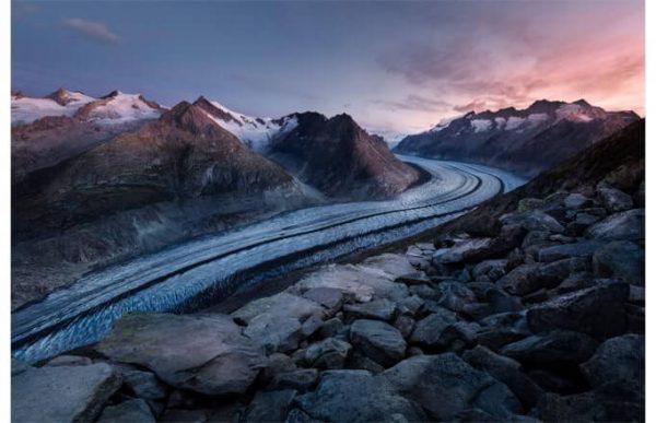 Фотообои Река изо льда