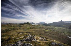 Фотообои Плато и небо