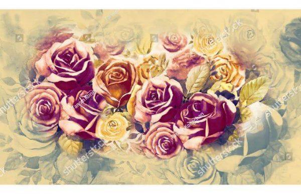 Фотообои Панно из роз