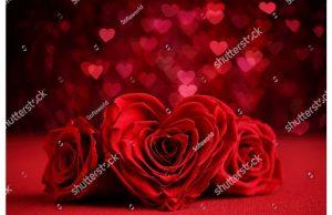 Фотообои Сердце из роз