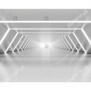 Фотообои Светлый тоннель вдаль