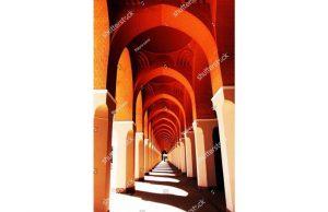 Фотообои Череда из арок