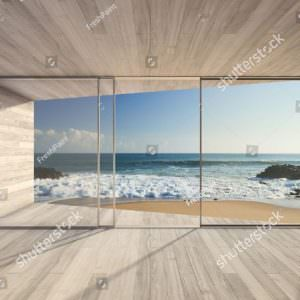 Фотообои Терраса на море