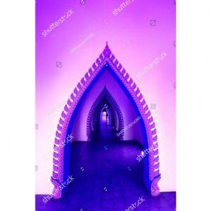 Фотообои Тоннель из восточных арок