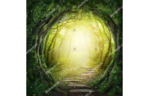 Фотообои Сказочная лесная тропинка