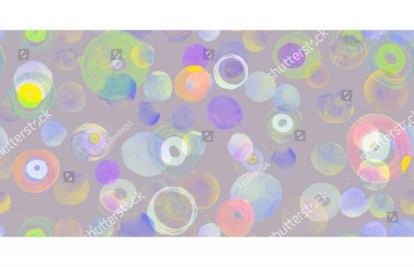 Фотообои Цветные кружочки