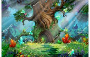 Фотообои Могучее сказочное древо