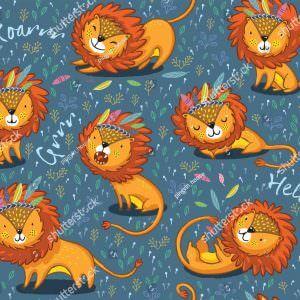 Фотообои Игривые львы