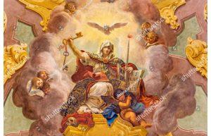 Фотообои Фреска с ангелами