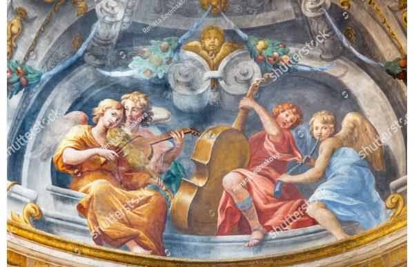 Фотообои Ангелы и скрипки
