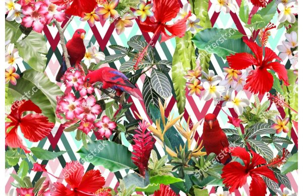 Фотообои Яркие тропики