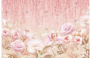 Фотообои Лилии и розы