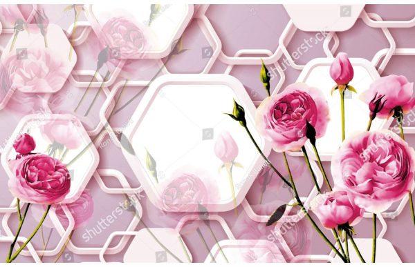 Фотообои Пионовидные розы
