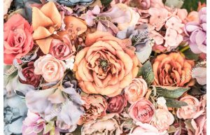 Фотообои Розы винтаж