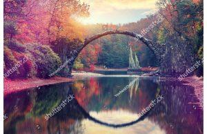 Фотообои Сказочный пейзаж