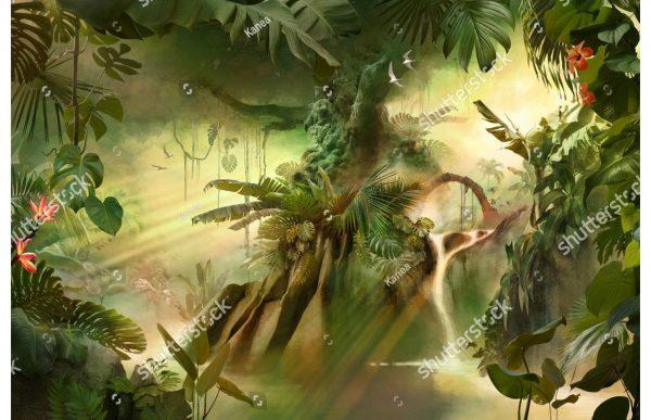 Фотообои Таинственные джунгли