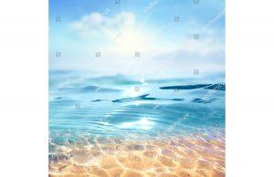 Фотообои В морской воде