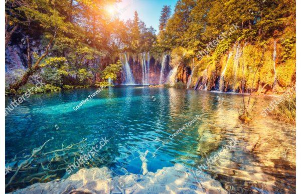 Фотообои Горное озеро