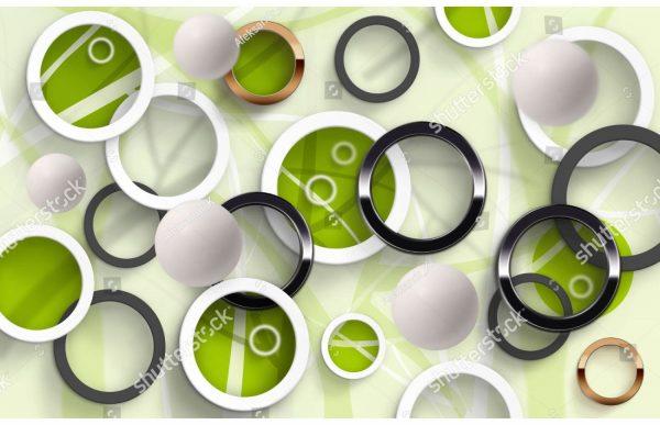 Фотообои Абстрактные круги