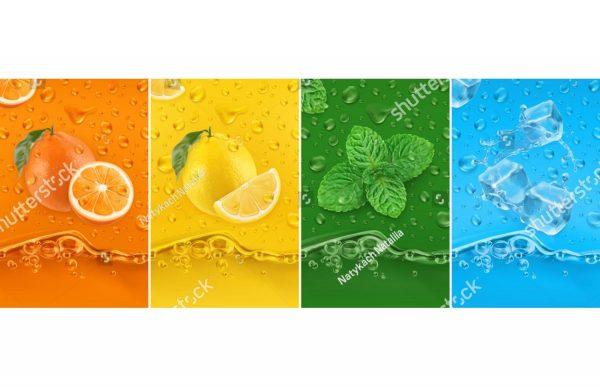 Фотообои Яркие фрукты
