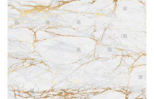 Фотообои Мраморный узор с золотом