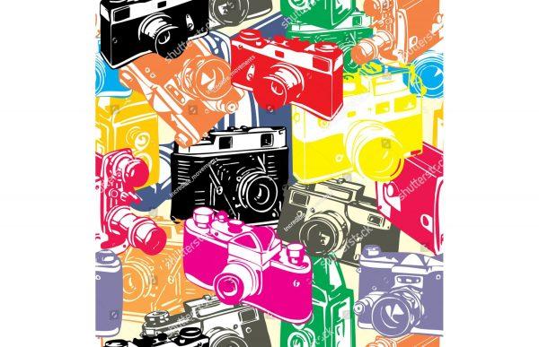 Фотообои Ретро арт фототехника