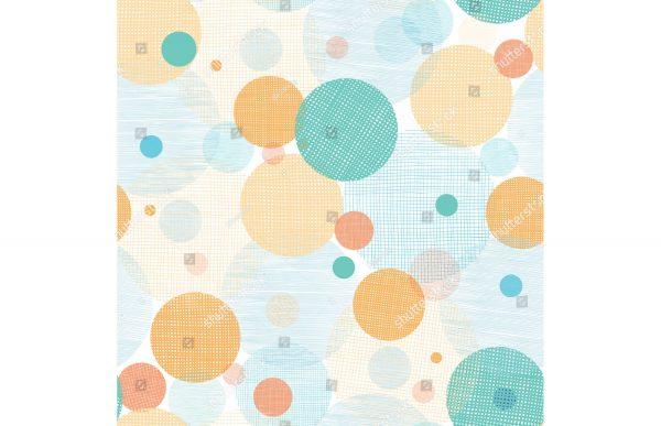 Фотообои Цветные круги