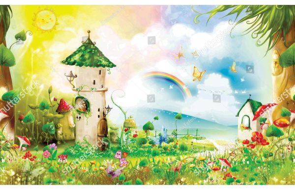 Фотообои Сказочная полянка