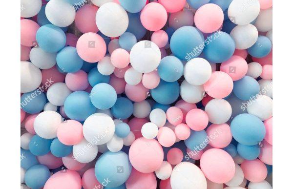 Фотообои Воздушные шарики