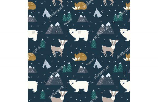 Фотообои Животные зимой