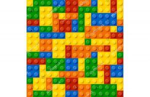 Фотообои Лего стена