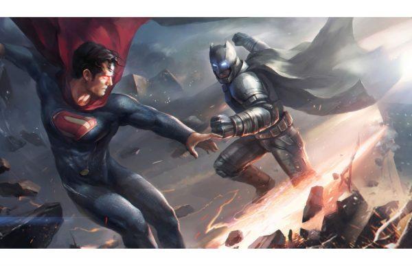 Фотообои Бэтмен против Супермена