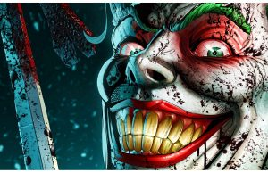 Фотообои Улыбка Джокера