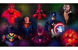 Фотообои Супергерои комиксов