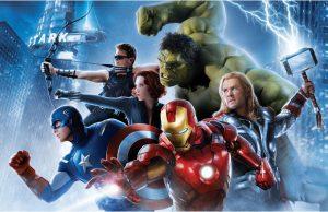 Фотообои Команда Мстителей готова к бою
