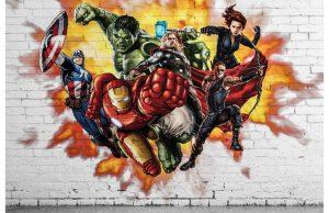 Фотообои Команда Мстителей