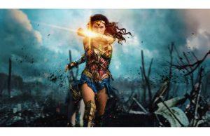 Фотообои Чудо-Женщина битва