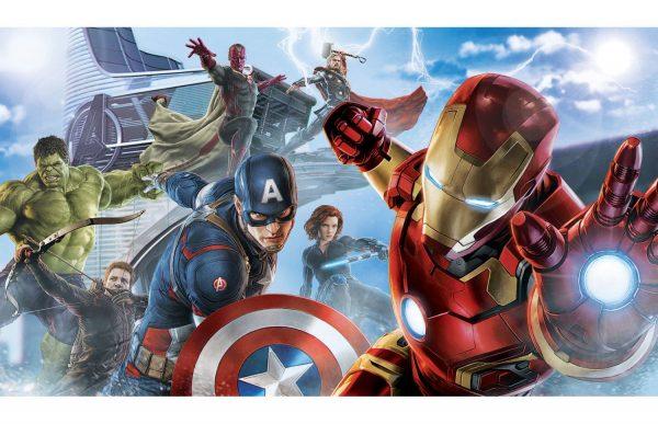 Фотообои Мстители в атаке
