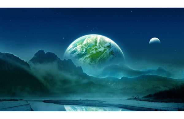 Фотообои Соседняя планета