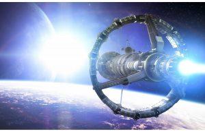 Фотообои Космический корабль