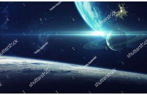 Фотообои Объекты вселенной