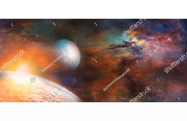 Фотообои Свет далеких планет